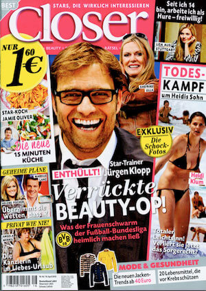 Jürgen Klopp – Verrückte BEAUTY-OP! – Closer