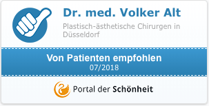 Von Patienen empfohlen - Dr. Alt - Portal der Schönheit