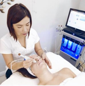 Hydrafacial beliebt bei den Hollywood-Stars