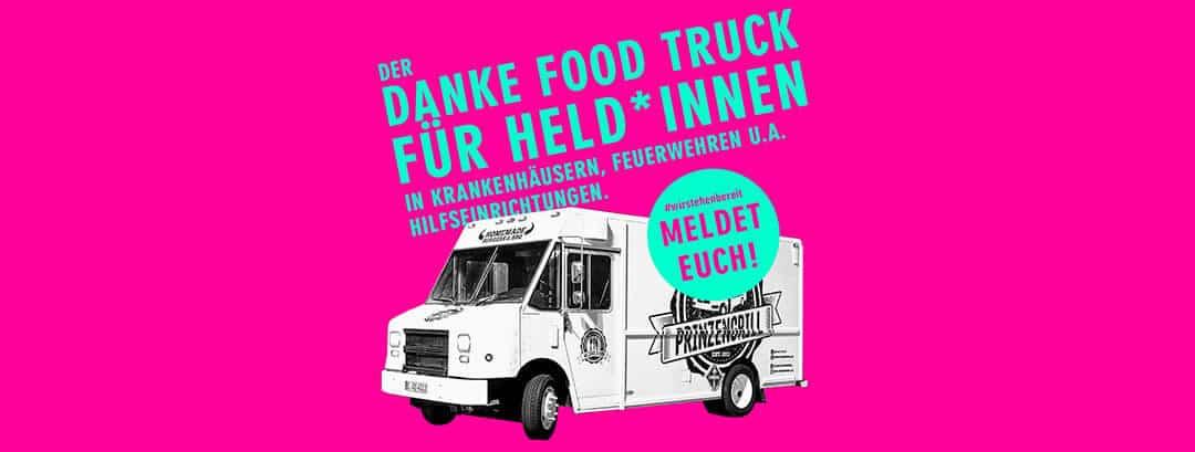 """Wir unterstützt """"Danke Food Truck für Held*Innen"""""""