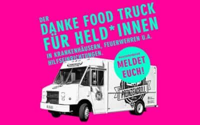 """Arteo Ästhetik Group unterstützt """"Danke Food Truck für Held*Innen in Krankenhäusern, Feuerwehren u.a. Hilfseinrichtungen"""""""